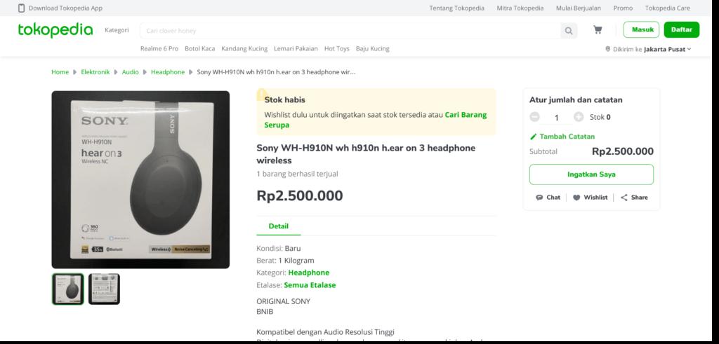REVIEW Sony WH-H910N h.ear on 3 Indonesia: Harga Miring, Fitur Berkelas 5