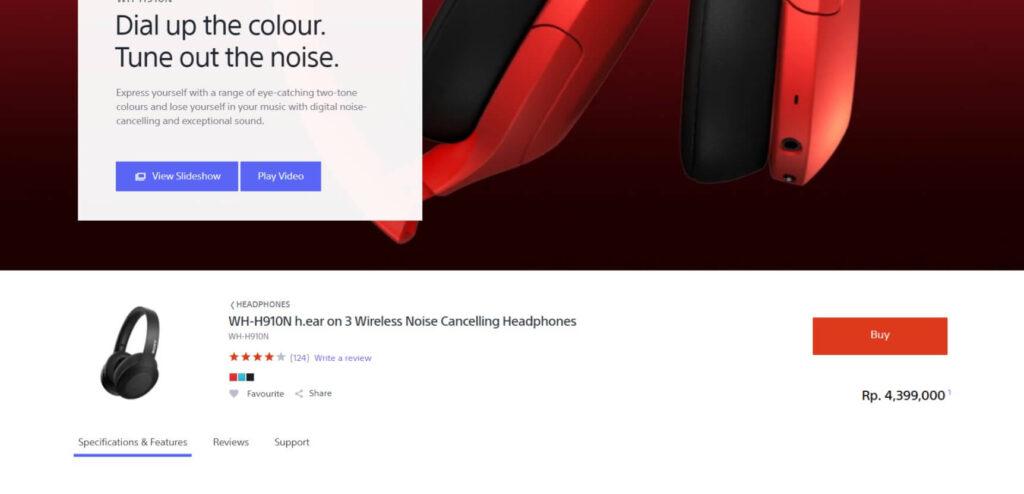REVIEW Sony WH-H910N h.ear on 3 Indonesia: Harga Miring, Fitur Berkelas 3