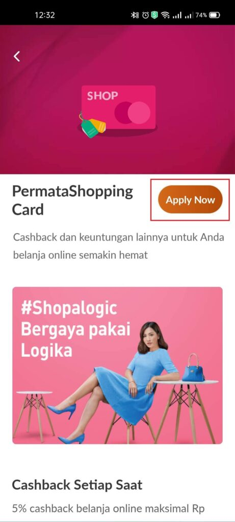 Pengalaman Mudahnya Apply Kartu Kredit Permata Shopping Card via PermataMobile X (UPDATE: 25/7/21) 4