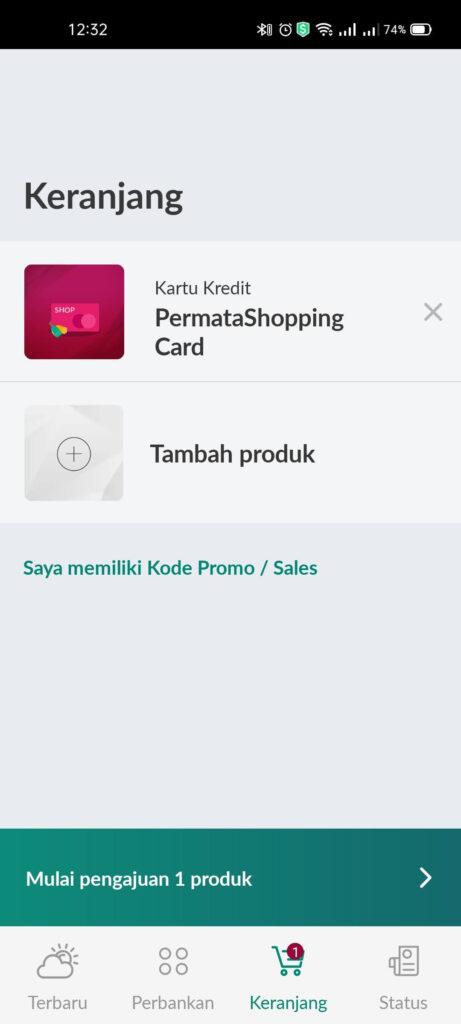 Pengalaman Mudahnya Apply Kartu Kredit Permata Shopping Card via PermataMobile X (UPDATE: 25/7/21) 5