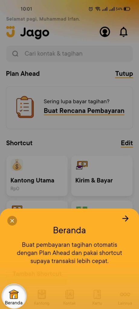 REVIEW Jago 2021: Aplikasi Perbankan dari Bank Jago Milik Gojek 18