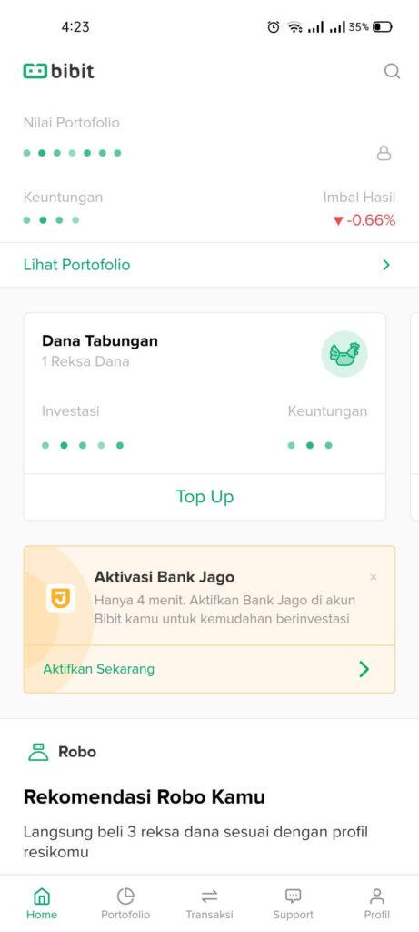 Jadi Mudah Beli Reksa dana di Bibit Berkat Bank Jago 2