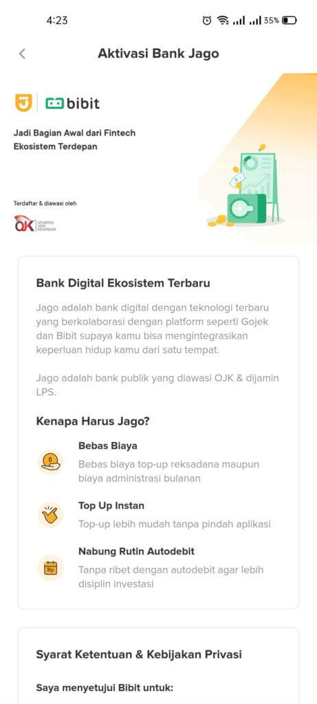 Jadi Mudah Beli Reksa dana di Bibit Berkat Bank Jago 3