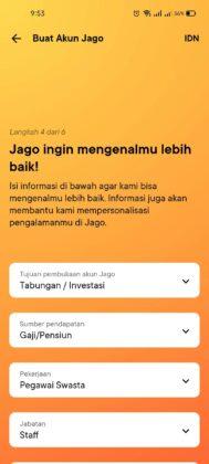 Daftar Bank Jago