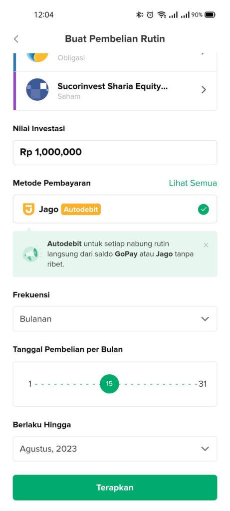 Jadi Mudah Beli Reksa dana di Bibit Berkat Bank Jago 17